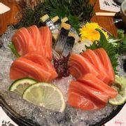 sashimi cá hồi - cá trích ép trứng