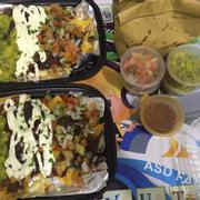 Carne Asada Steak Nacho's 170,000₫; Ground Beef Nacho's 170,000₫; 2 pack of Chips & Salsa / Guacamole 140,000₫