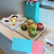 Grande Suite corner room welcome treats