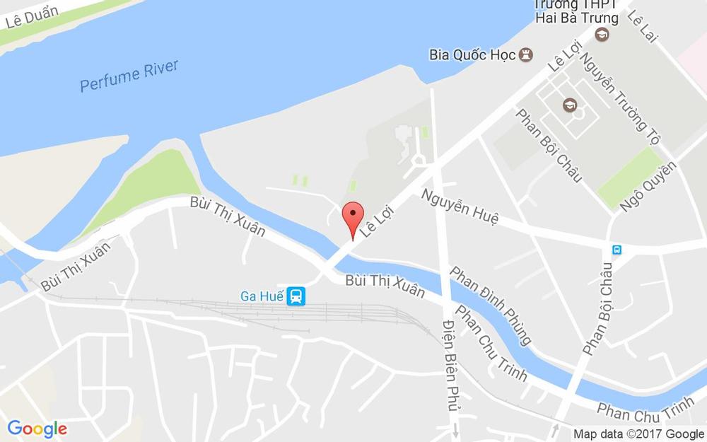 Vị trí bản đồ Lâm Bảo Long Hotel - 80 Lê Lợi ở Huế