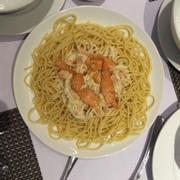 Spaghetty cá hồi