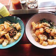 Cháo ăn cũng ngon nữa thích cái ớt trưng ghia ý ^^