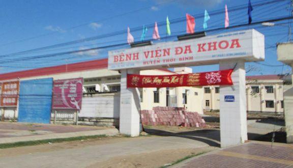 Bệnh Viện Đa Khoa Huyện Thới Bình - Tỉnh Lộ 961