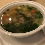 Soup gà hạt sen