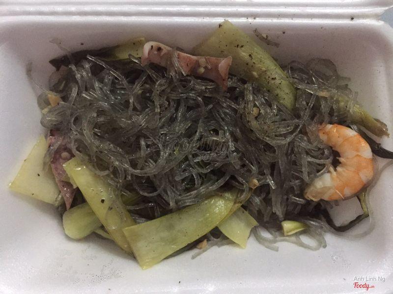 Miếng xào hải sản