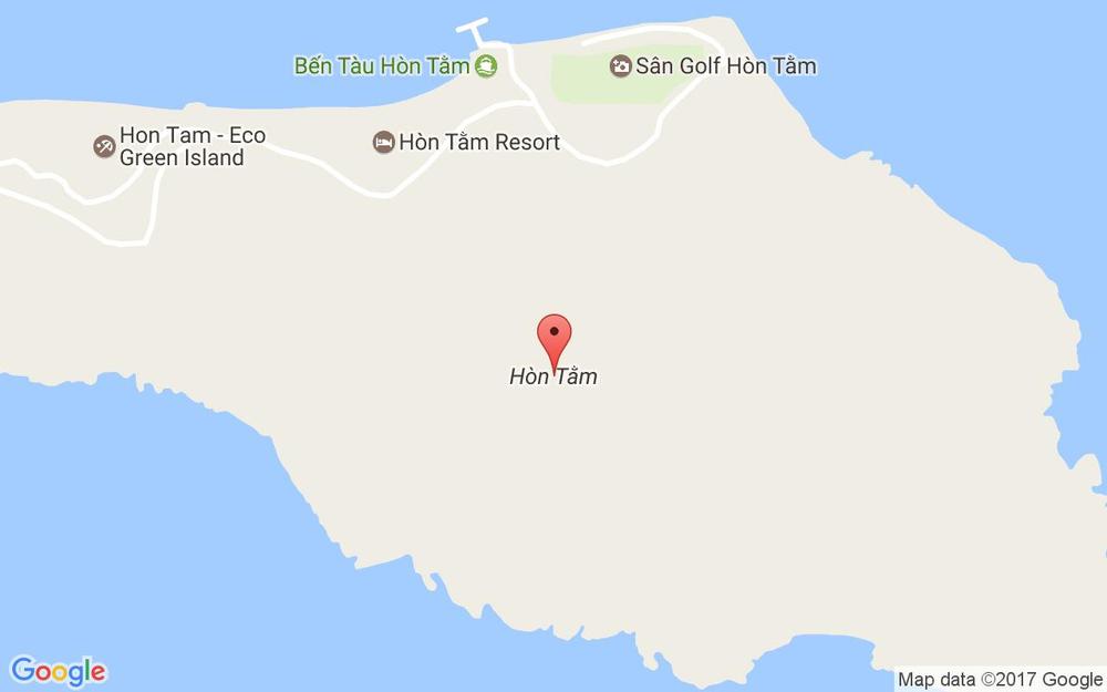Vị trí bản đồ Đảo Hòn Tằm Tp. Nha Trang Khánh Hoà
