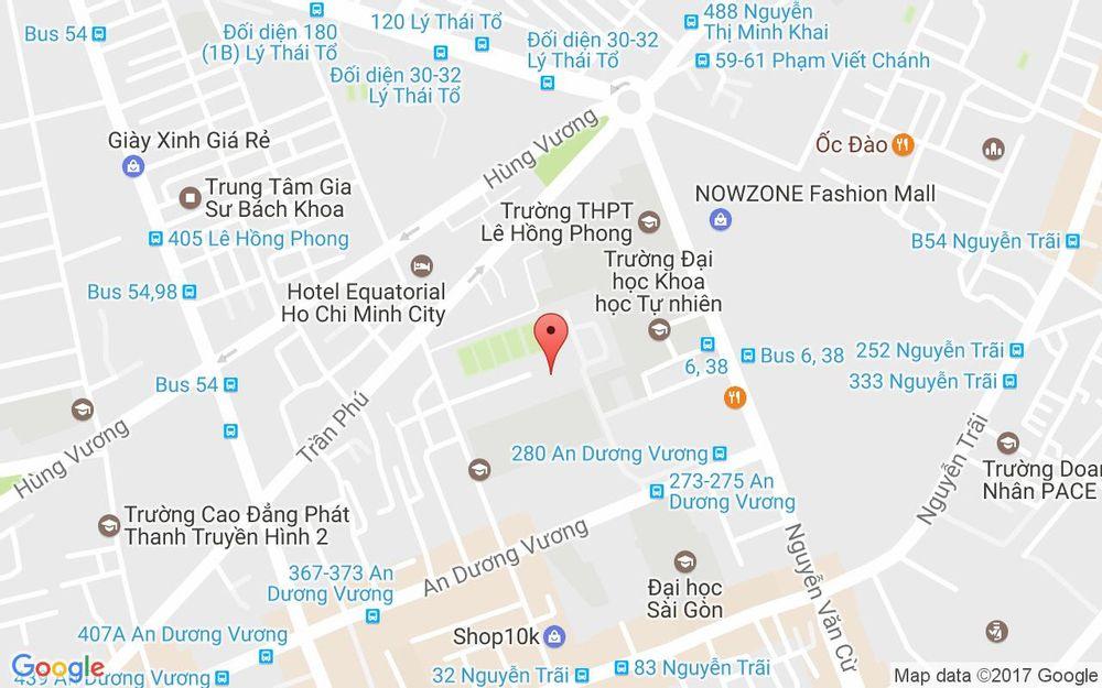 Vị trí bản đồ 242 Trần Bình Trọng, P. 4 Quận 5 TP. HCM