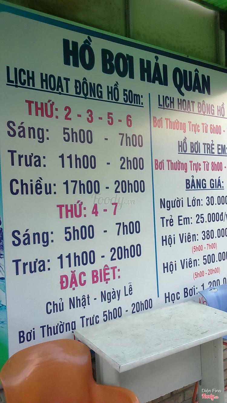Hồ Bơi Hải Quân - Nguyễn Hữu Cảnh ở TP. HCM