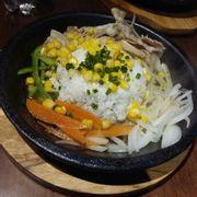 cơm thịt heo sốt miso