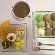 Lẩu kem trà xanh 199k