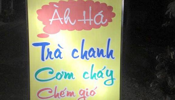 Àh Há - Trà Chanh & Cơm Cháy