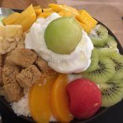 bingsu trái cây