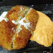 Chả giò hải sản sốt mayonnaise