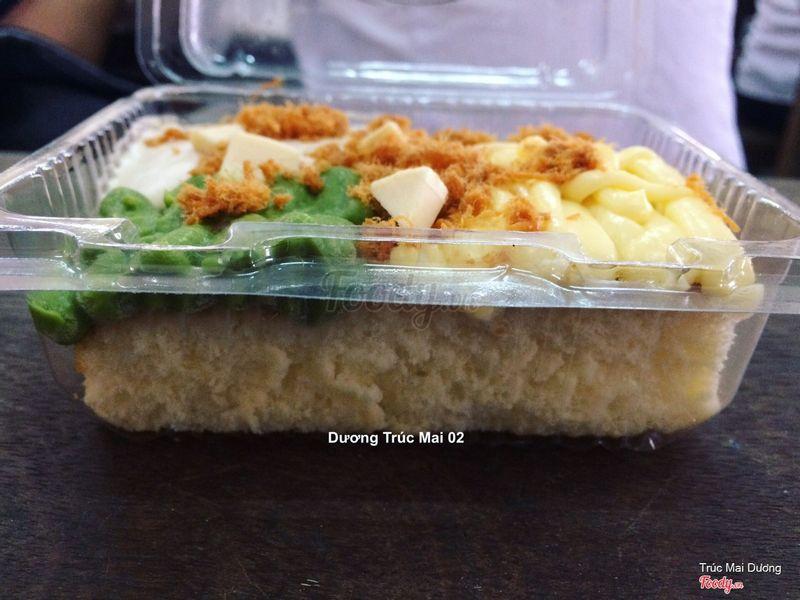Bánh Bông lan 4 Sốt
