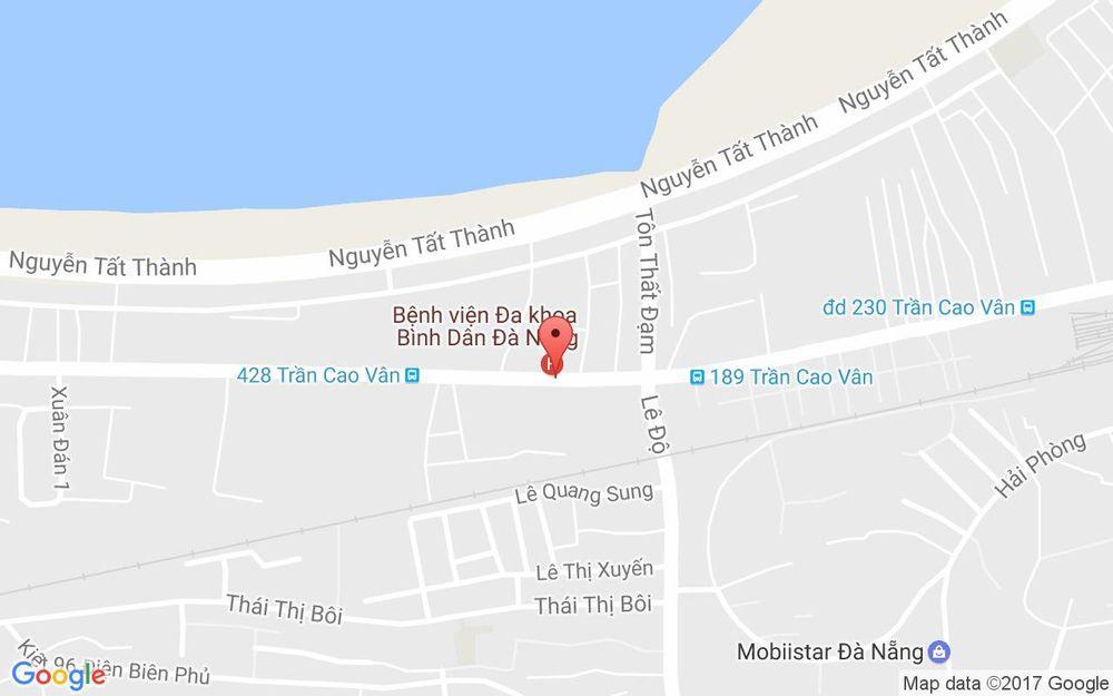 Vị trí bản đồ 376 Trần Cao Vân  Quận Thanh Khê Đà Nẵng