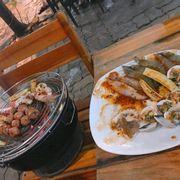 Combo nướng hải sản ,hồ lô nướng