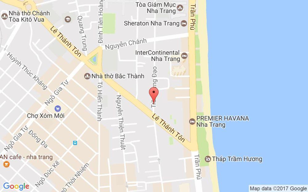 Vị trí bản đồ 1 Trần Hưng Đạo Tp. Nha Trang Khánh Hoà