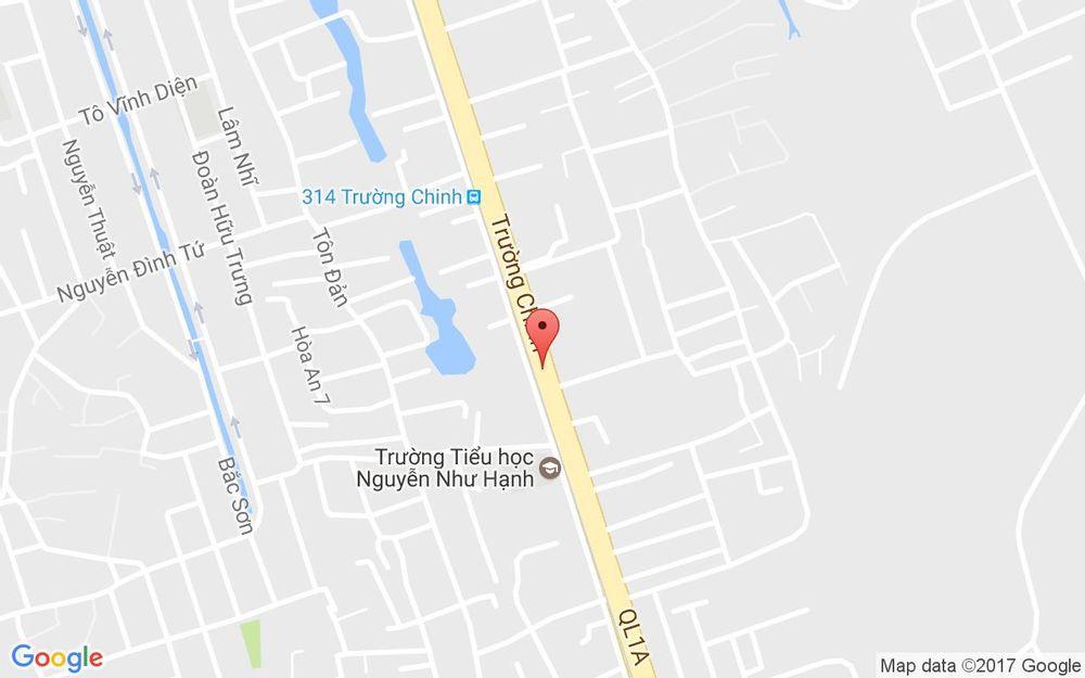Vị trí bản đồ 259 Trường Chinh Quận Thanh Khê Đà Nẵng