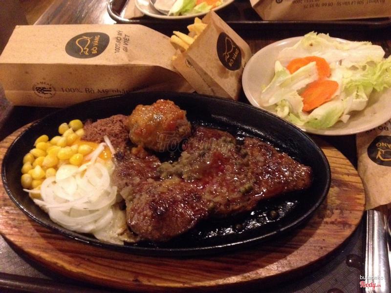 Bò đặc biệt (125gr) sốt tiêu đen