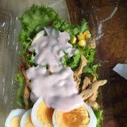 Salad Gà quay