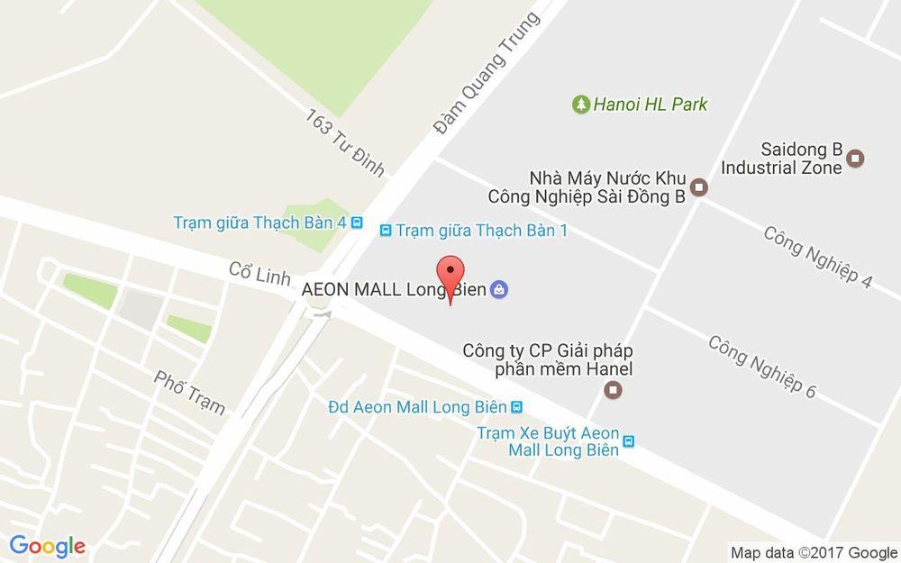 Vị trí bản đồ Dream Games - AEON Mall Long Biên ở Hà Nội