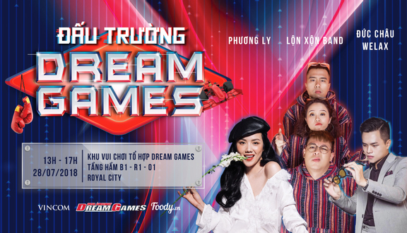 Dream Games - AEON Mall Long Biên