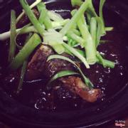 Cháo ếch singapo
