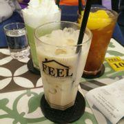 Trà sữa Oolong - Trà đào - Matcha Ice Blended + Whipping Cream
