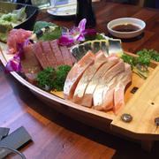 sashimi cá hồi - cá ngừ - cá trích ép trứng