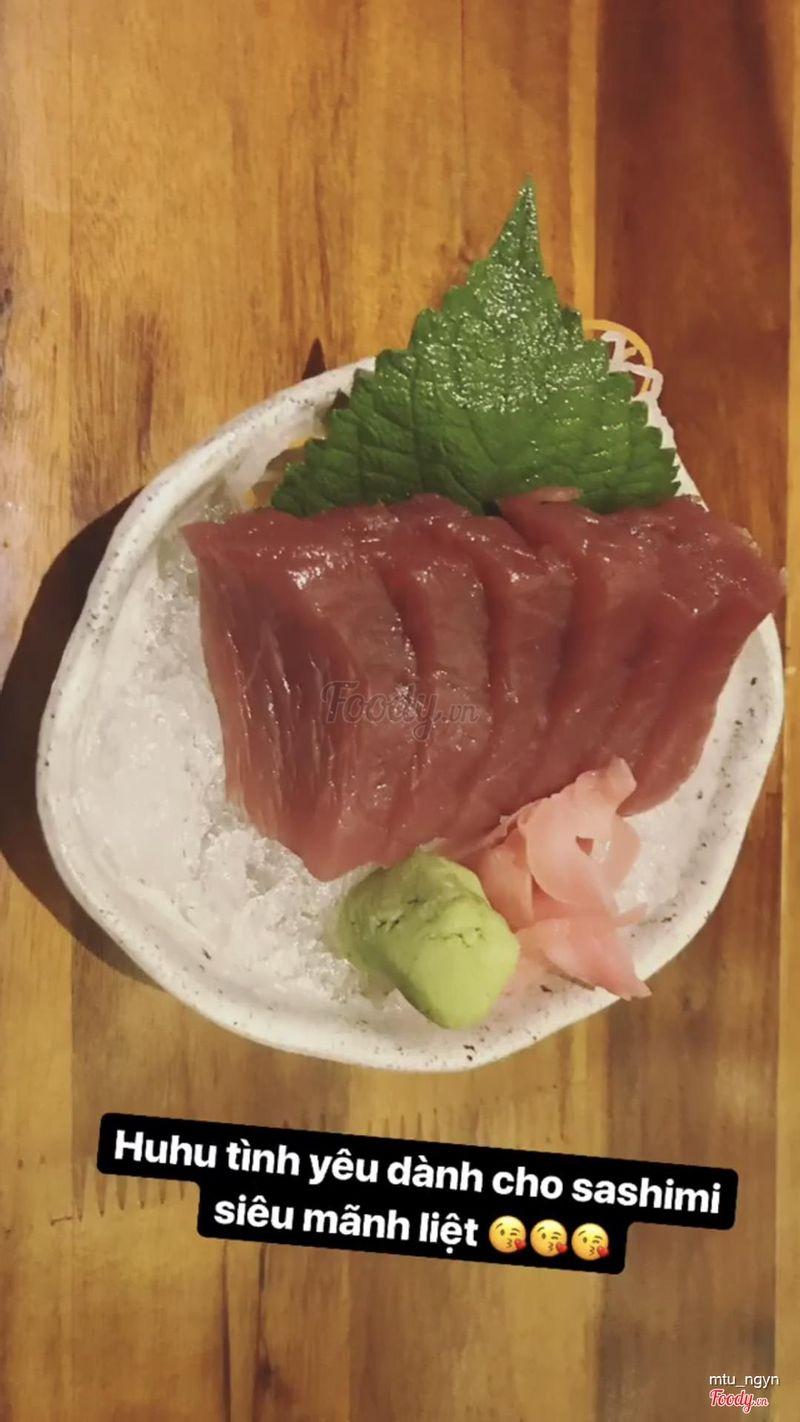 Sashimi cá ngừ 😋