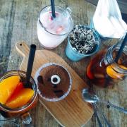 Bánh gấu + Trà đào + Sữa chua