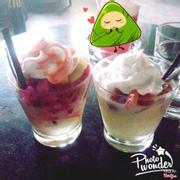 Hoa quả dầm kem