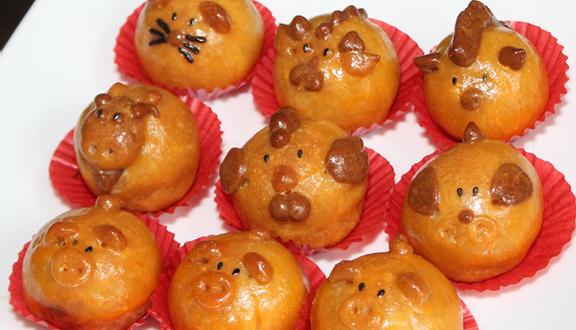 Bánh Trung Thu 12 Con Giáp - Nguyễn Thị Huỳnh