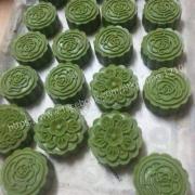bánh truyền thống vị trà xanh