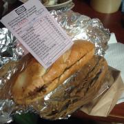 Bánh mì bò sốt 50k