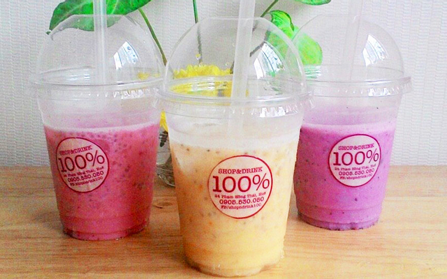 100% Juice - Tea - Coffee