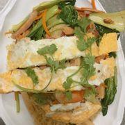 Bún gạo hải sản