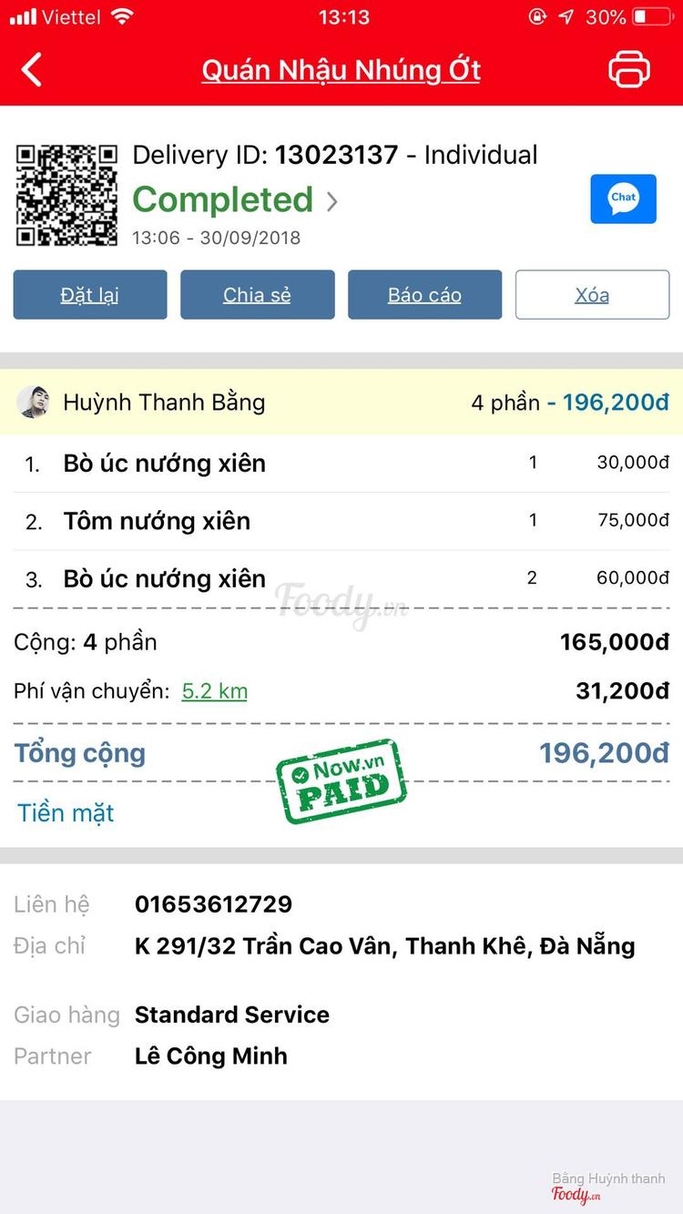 ... Quán Nhậu Nhúng Ớt - Phạm Quang Ảnh ở Đà Nẵng