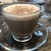 Sô cô la sữa dừa nóng