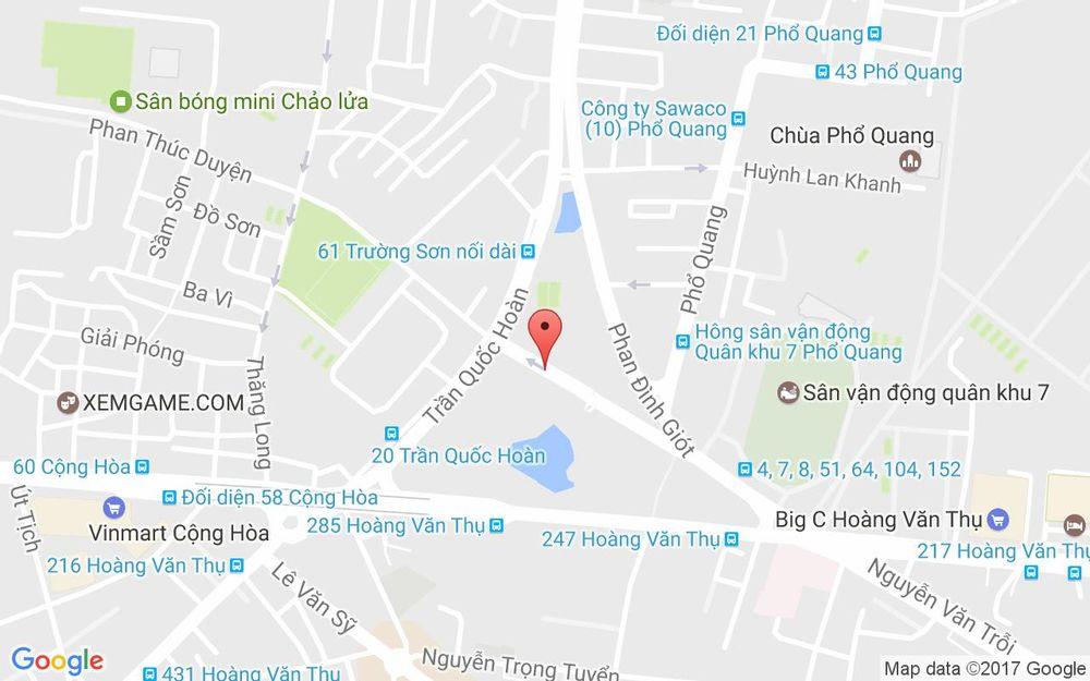 Vị trí bản đồ Phan Đình Giót Quận Tân Bình TP. HCM