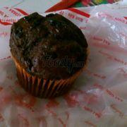 Muffin socola! My cup of tea