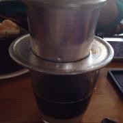 Cà phê sữa fin, 45k