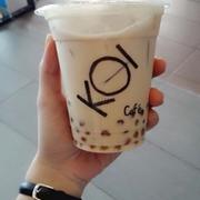 golden bubble milk tea
