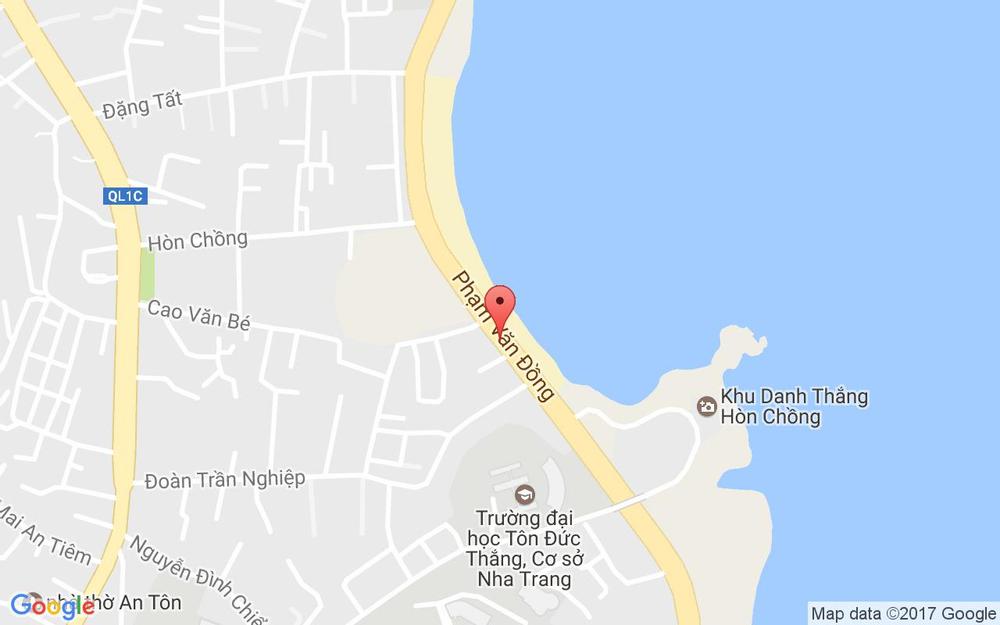Vị trí bản đồ 3 Phạm Văn Đồng Tp. Nha Trang Khánh Hoà