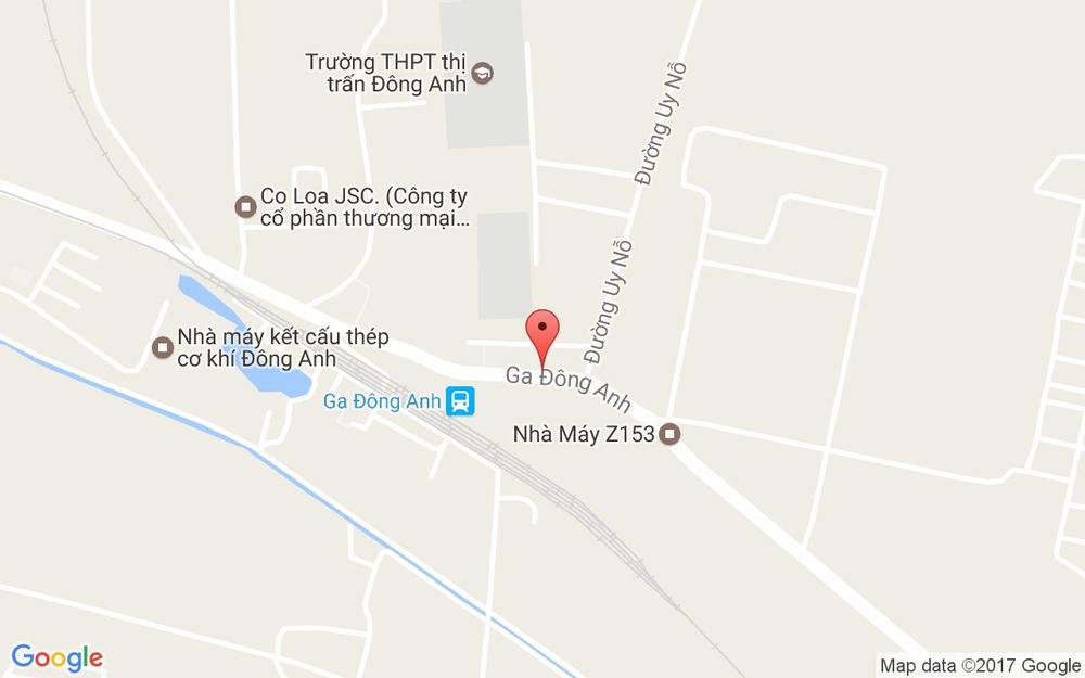 Vị trí bản đồ 158A Tổ 14, Đường Ga Đông Anh Đông Anh Hà Nội