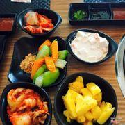 Kim chi, rau củ ăn kèm