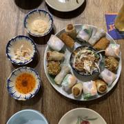 Dinner at  Vietnamese bisto:))
