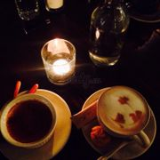 Capuccino and creme brule