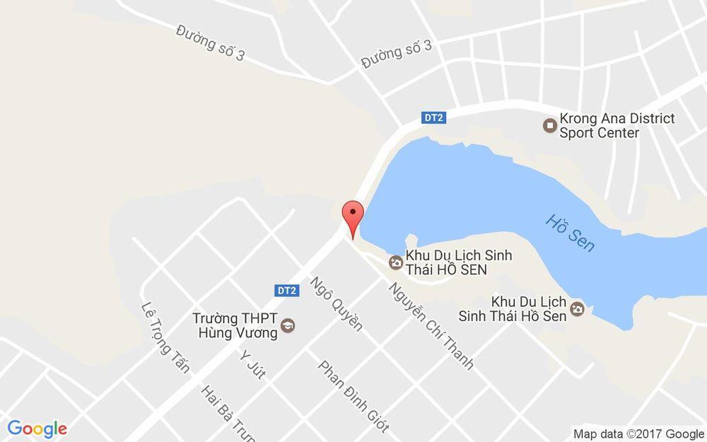 Vị trí bản đồ Hồ Sen Cafe - Nguyễn Chí Thanh ở Đắk Lắk