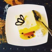 Mango passion cheese cake